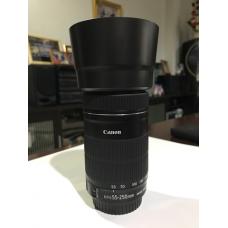 เลนส์ canon 55-250 stm